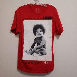 Other - Biggie Ready to Die album cover screenprint shirt